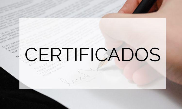 certificados ecoparquets